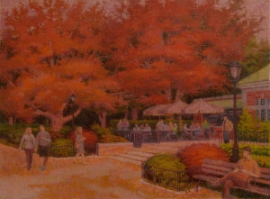 """Autumn Dusk Cafe"""